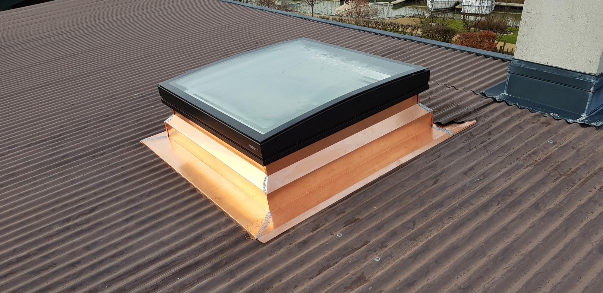 Garniture de fenêtre de toit